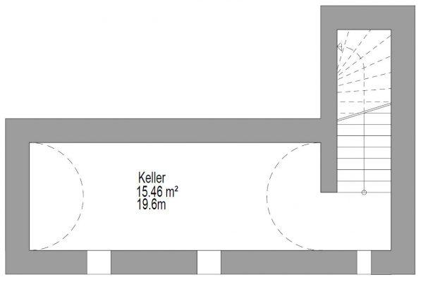 Grundrissplan KG